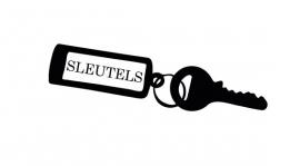Sleutels Motief 2 Sticker