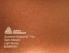 Avery SWF Wrap Satin Light Brown Metallic
