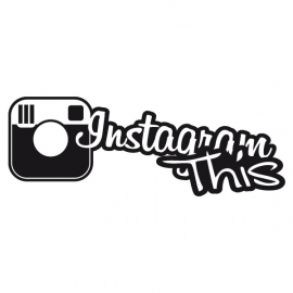 Instagram This Motief 3 Sticker