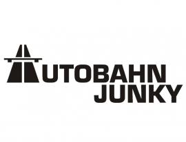 Autobahn Junky  1 Sticker