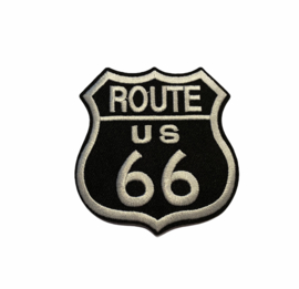 Route 66 Embleem Strijk Patch