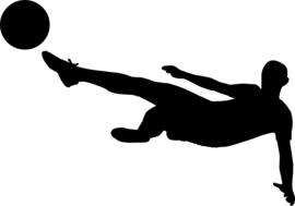 Voetbal Sticker Motief 1