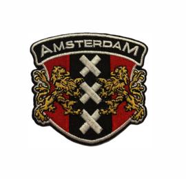 Amsterdam XXX Badge Strijk Patch