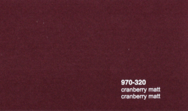 Oracal 970RA 320M Cranberry Mat Wrap Folie