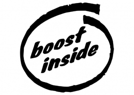 Boost Inside Motief 2 sticker