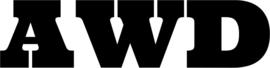 AWD Motief 8 Sticker