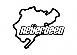 Nürburgring 'Never Been' sticker