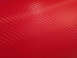 Carbon Wrap Folie Rosso Rood