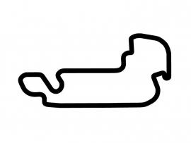Indianapolis Motor Speedway MotoGP Circuit Sticker