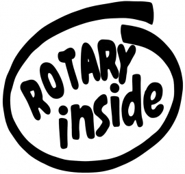 Rotary Inside sticker