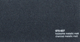 Oracal 970RA  937  Wrap Folie  Mat Charcoal Metallic