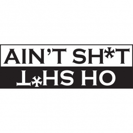 Ain't Shit Oh Shit Sticker