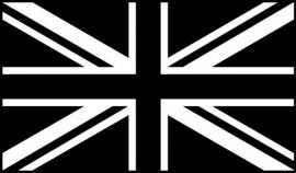 Great Britain Vlag sticker