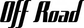Off Road Motief 8 sticker