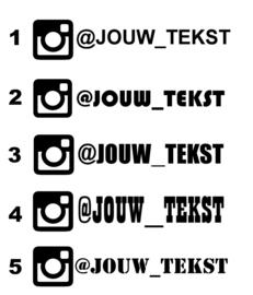 Instagram Eigen Tekst Sticker