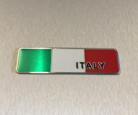 Italië  Embleem Metaal ( Langwerpig )