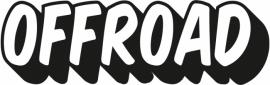 Off Road Motief 11 sticker