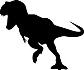 Dinosaurus Sticker Motief 2