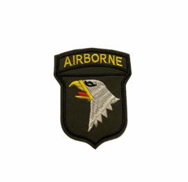 Airborne Strijk Patch | Legergroen