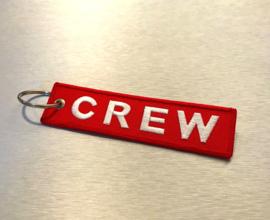 CREW Sleutelhanger Rood
