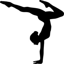 Ballet Sticker Motief 3