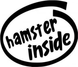 Hamster Inside sticker