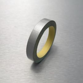 Reflecterende Contour Tape Wit / Zilver 1 cm |  5 Meter