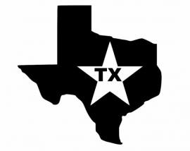 Texas State Motief 4 sticker