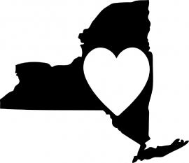 New York State Motief 3 sticker