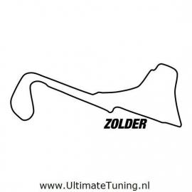 Circuit Zolder Motief 1 Sticker