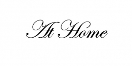 At Home Sticker