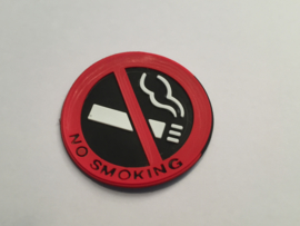 No Smoking / Niet Roken Sticker Rubber