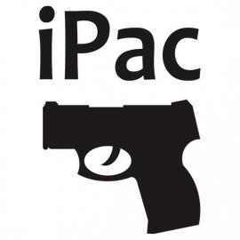 iPac Gun Motief 2 sticker