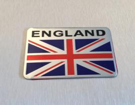 Engeland  Embleem Metaal ( Rechthoekig )