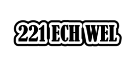 221 ECH WEL Sticker