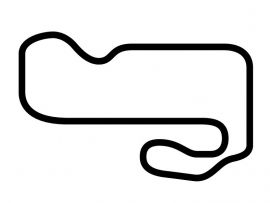 Indianapolis Raceway Park Road Course Circuit Sticker