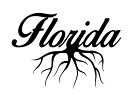 Florida Roots sticker