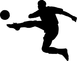 Voetbal Sticker Motief 3