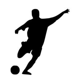 Voetbal Sticker Motief 7