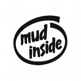 Mud Inside sticker