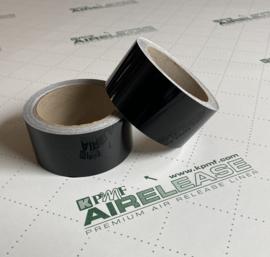 KPMF De Chrome Wrap Folie / Tape Glans Zwart | 5 Meter