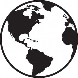 Wereld Bol sticker