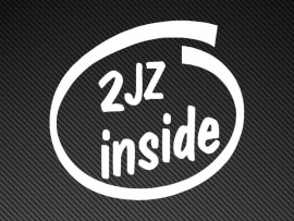 2JZ Inside sticker