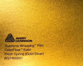 Avery SWF Wrap ColorFlow Satin Fresh Spring ( Gold/Silver)