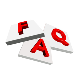 FAQ Stickers