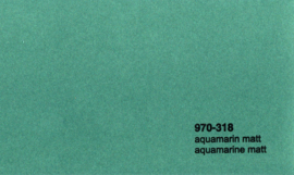 Oracal 970RA 318M Aquamarine Mat Wrap Folie