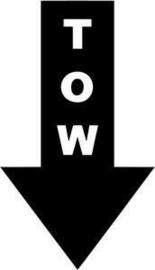 TOW Motief 8 sticker