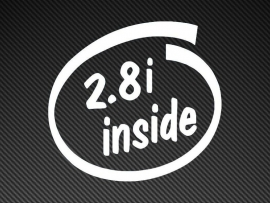 2.8i Inside sticker
