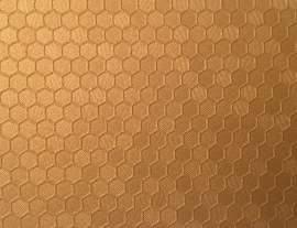 Oracal 975 091 Goud Honeycomb  Wrap Folie