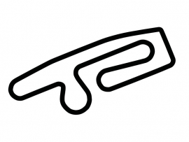 Anderstorp Raceway Circuit Sticker